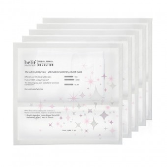 belif The White Decoction - Ultimate Brightening Sheet Mask